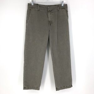 J Brand Sz 26 Parker Low Rise Cropped Relaxed Pant